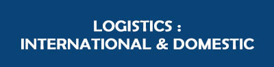 Logistic : International and domestic